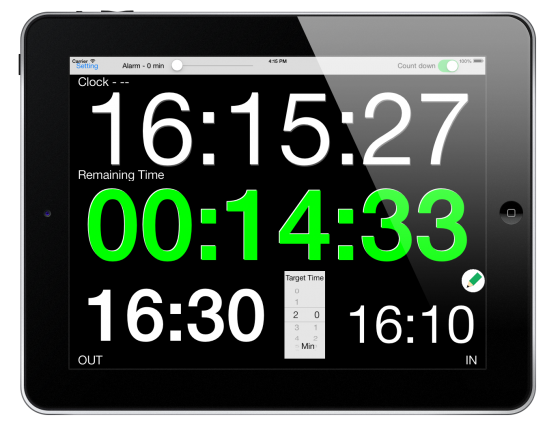 ASE Rally Monitor: Rally Service timer