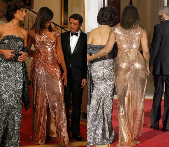 The ikebe on US first lady, Michelle Obama though