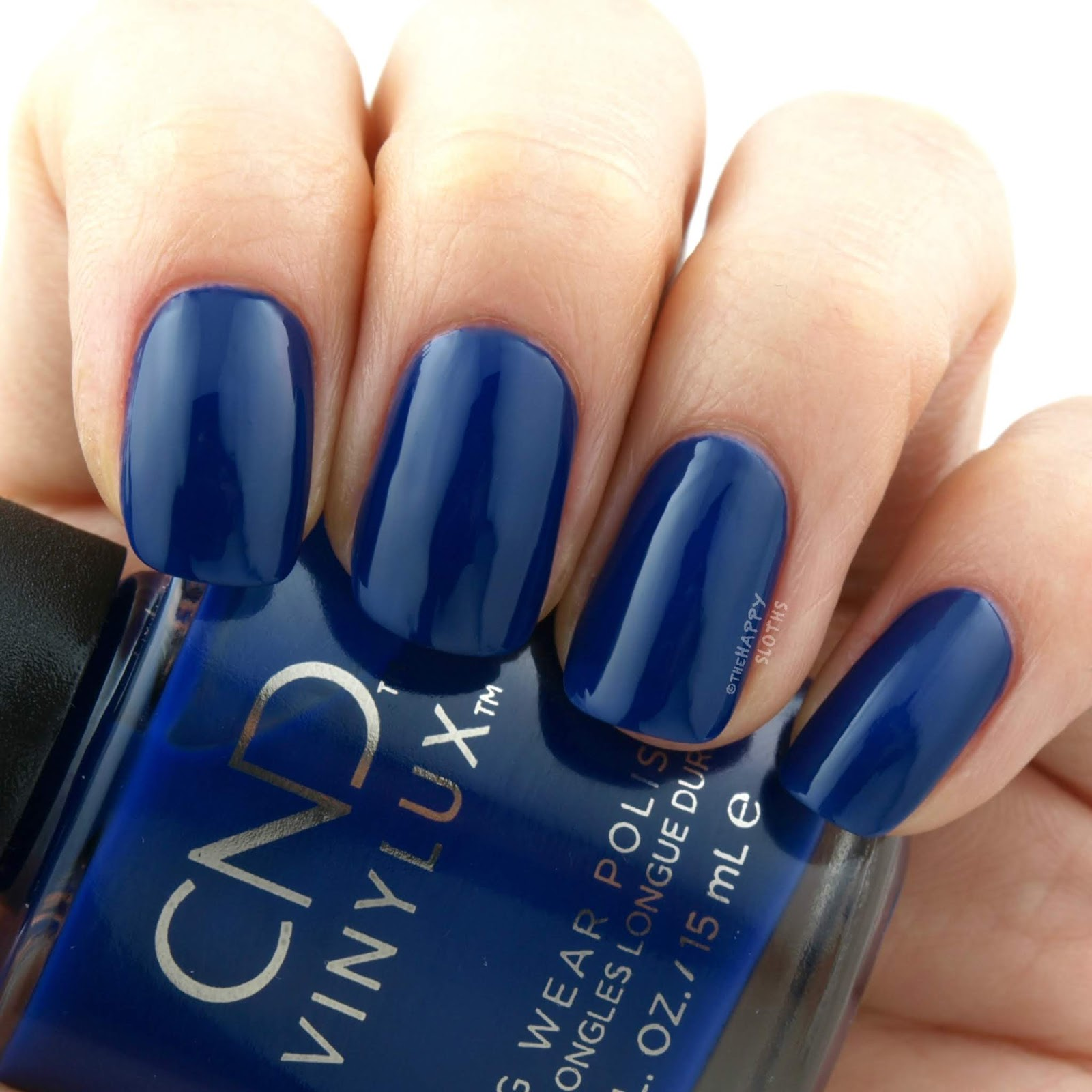 "CND Vinylux | Fall 2018 Wild Earth Collection in ""Blue Moon"": Review and Swatches"