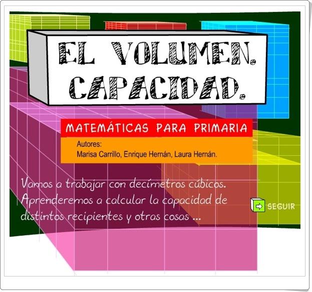 El volumen. Capacidad Medidas en Educación Primaria