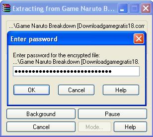 Naruto Shinobi Breakdown PC Portable