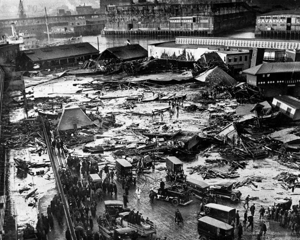 Great Molasses Flood Boston
