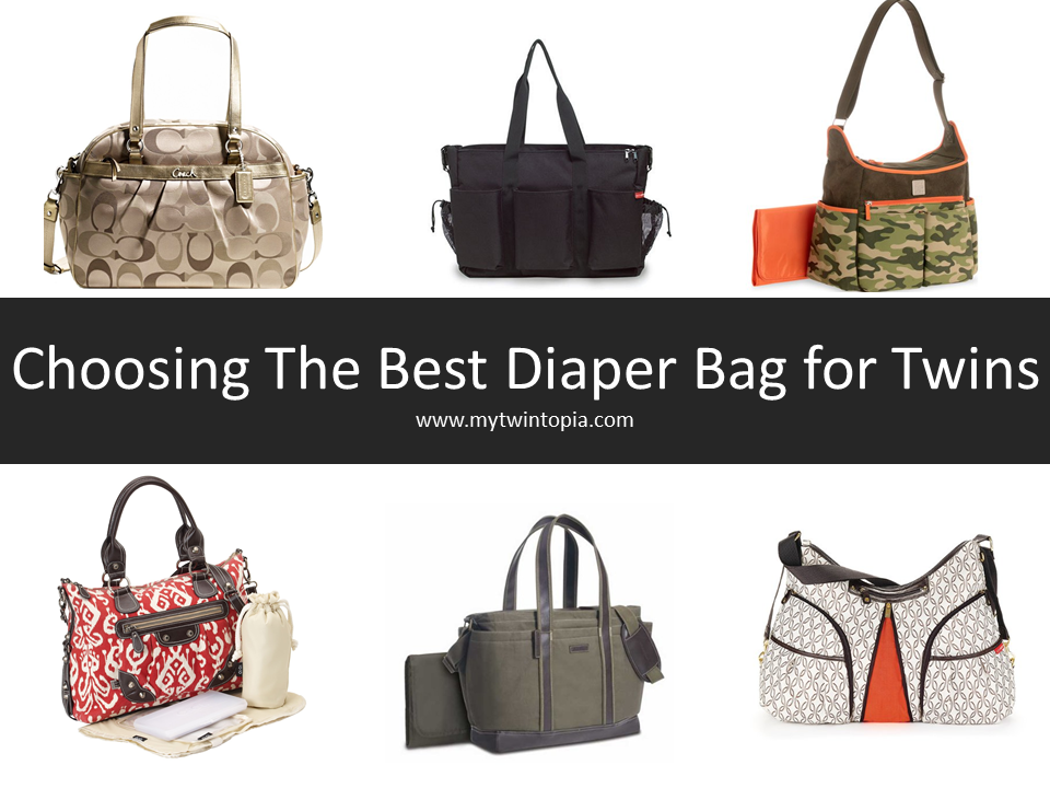 Best Diaper Bag For Twins And Triplets