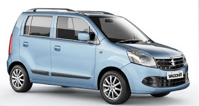 Maruti Suzuki WagonR side view picture