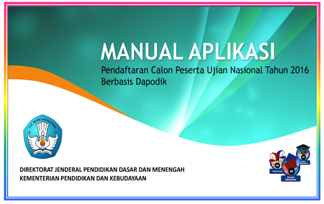 Download Panduan cara pendaftaran calon peserta Ujian Nasional SD SMP SMA SMK