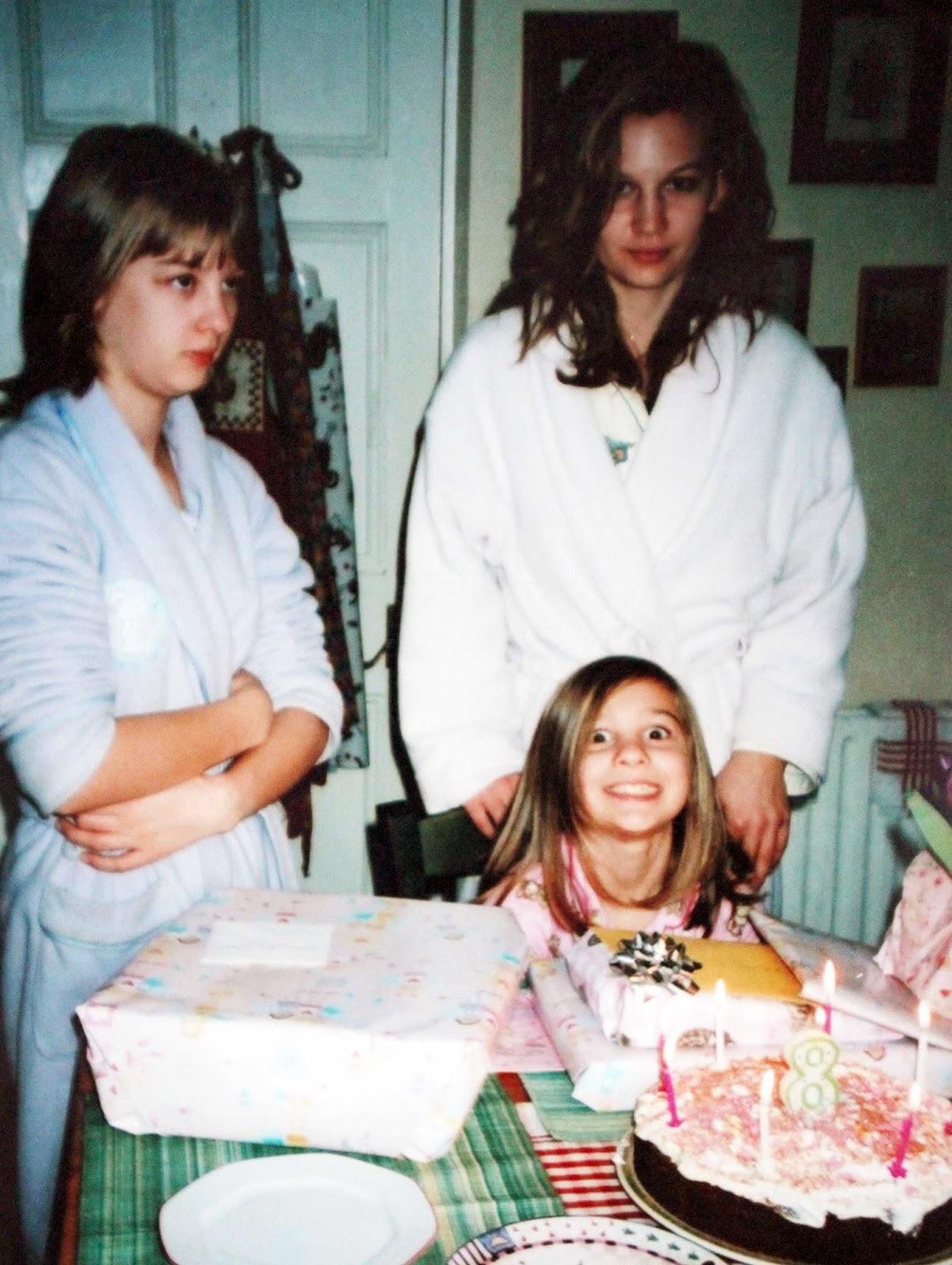 Throwback Thursday Sister Sister Anna Saccone Joly