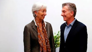 FMI entregará 15 mil mdd a Argentina de inmediato