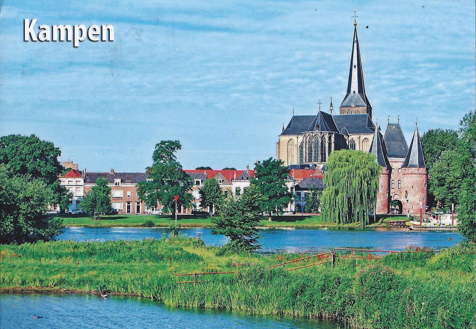 A Journey of Postcards: Hanseatic League member Kampen ...