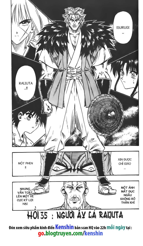 Rurouni Kenshin chap 35 trang 1