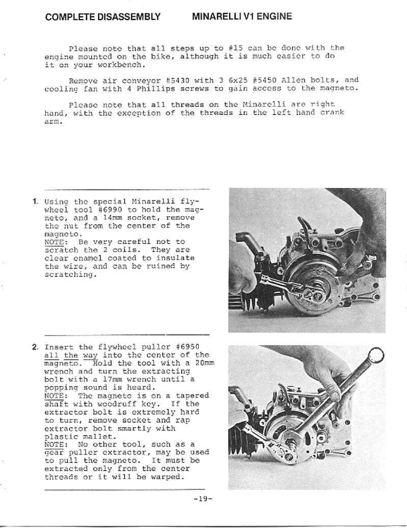 OB1 Repairs: Minarelli V1 Service Manual
