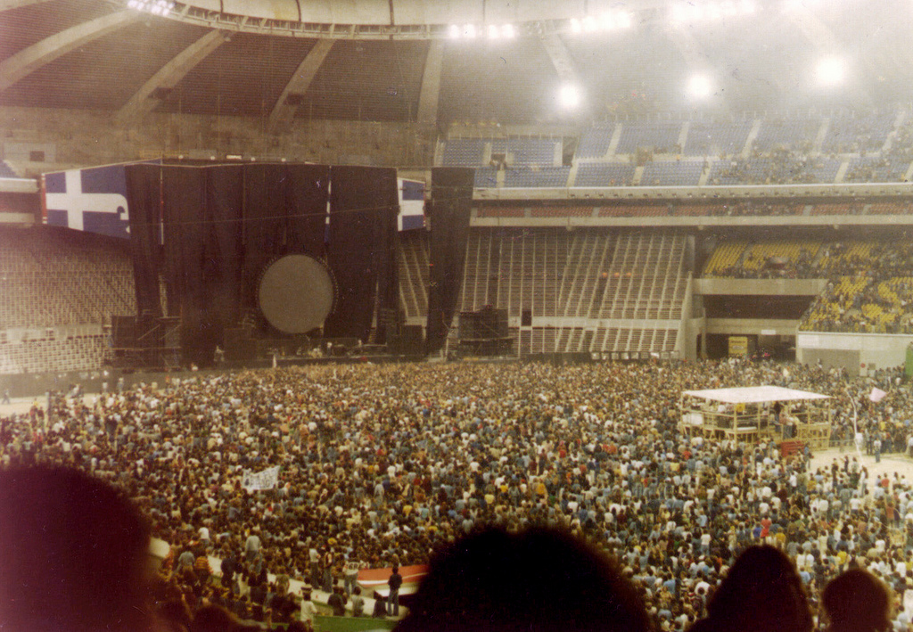 Concert Stage Design Pink Floyd In The Flesh Tour 1977