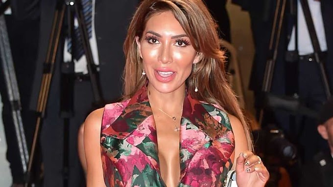 At the Venice Film Festival, Farrah Abraham suffers from a significant wardrobe malfunction (Photos)