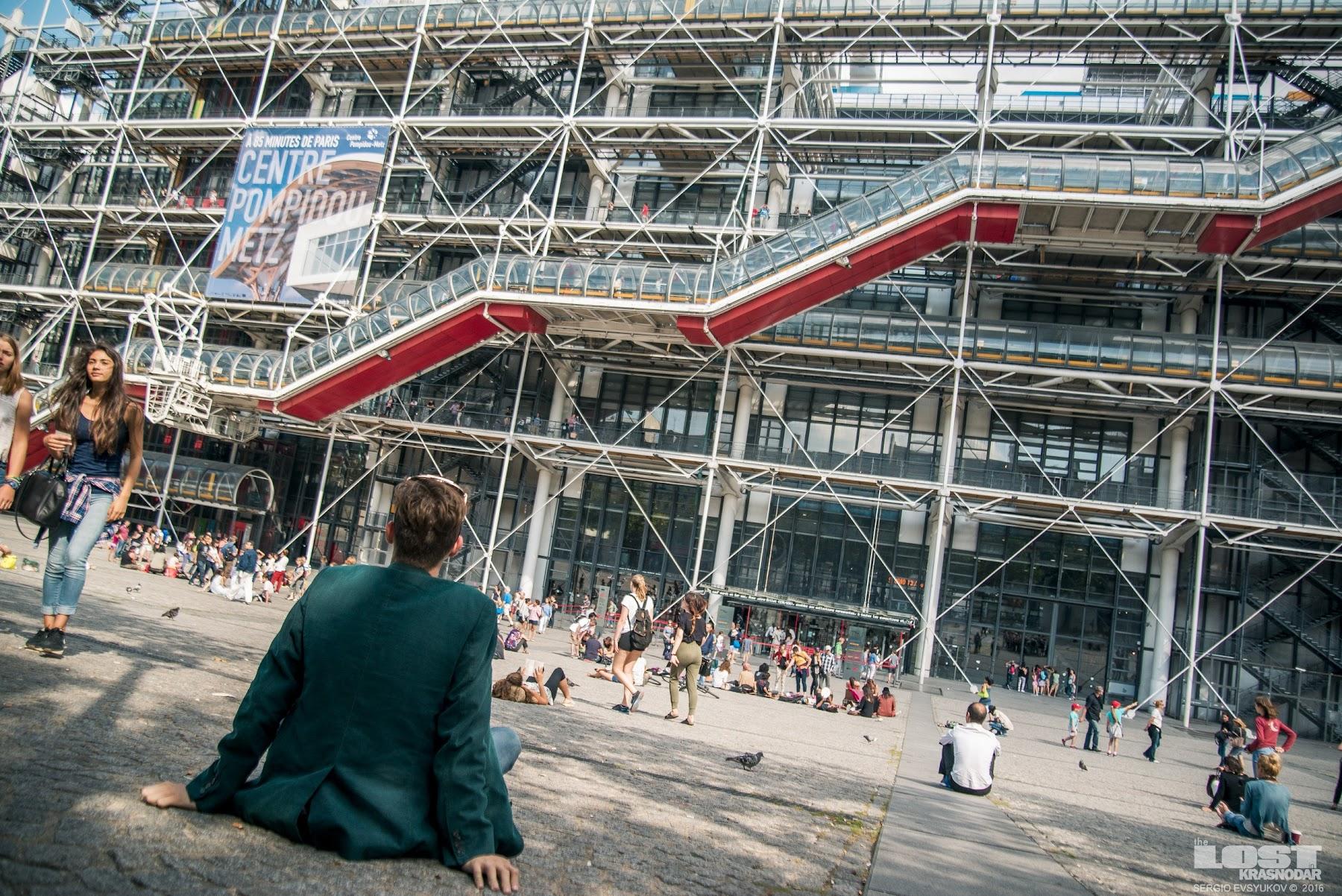 Современное искусство в Париже