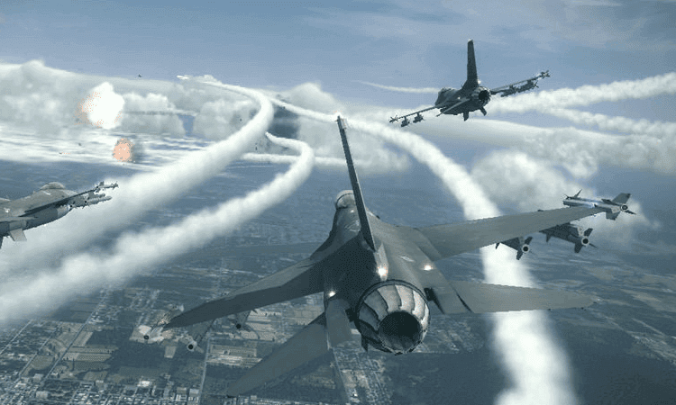 تحميل لعبة Ace Combat 7 Skies Unknown مضغوطة
