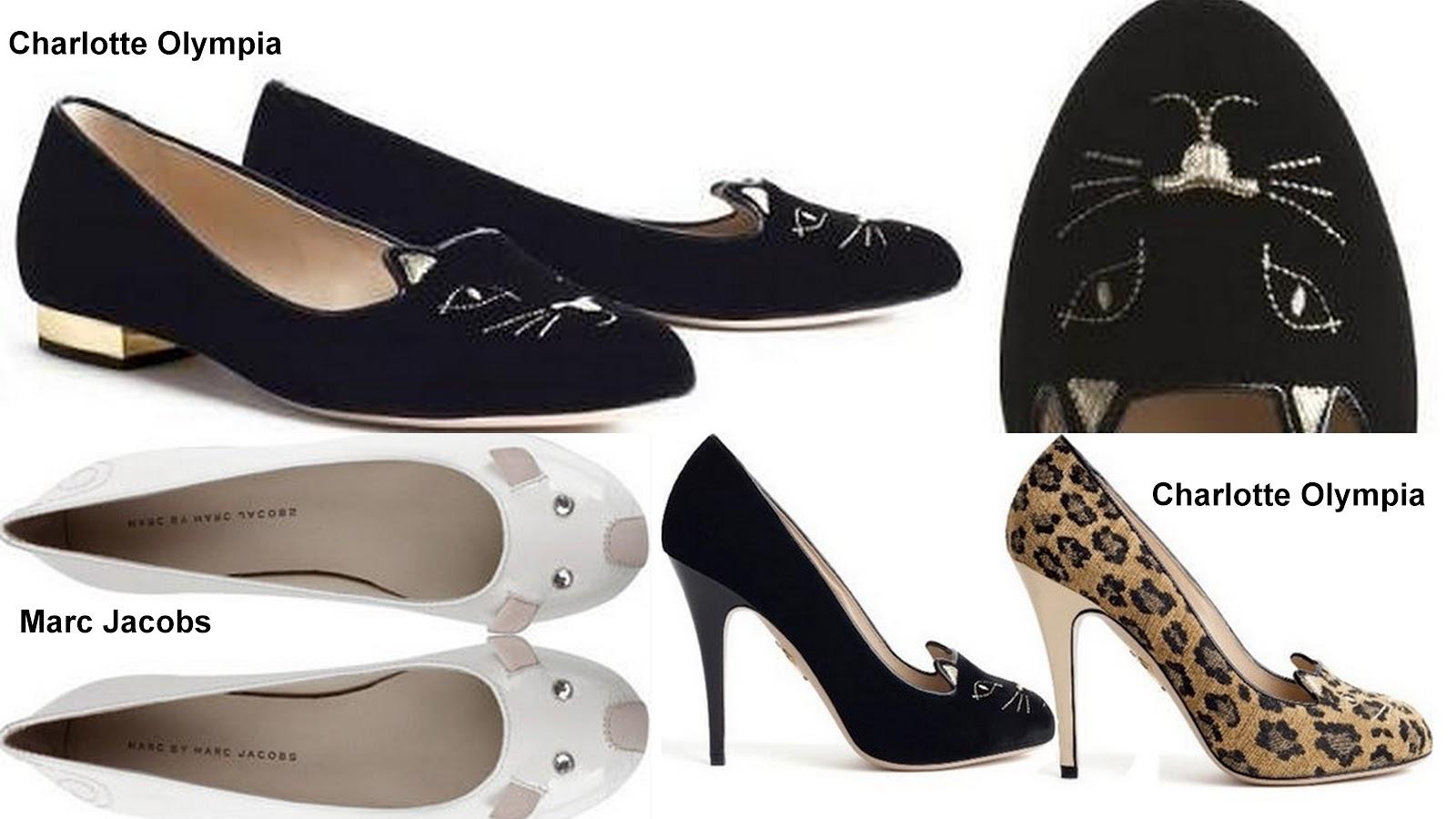 315f64346 Apesar de os sapatos de gatinho da Charlotte Olympia e de ratinho do Marc  Jacobs não serem mais novidade, eu quero compartilhar com vocês meu amor  por essas ...