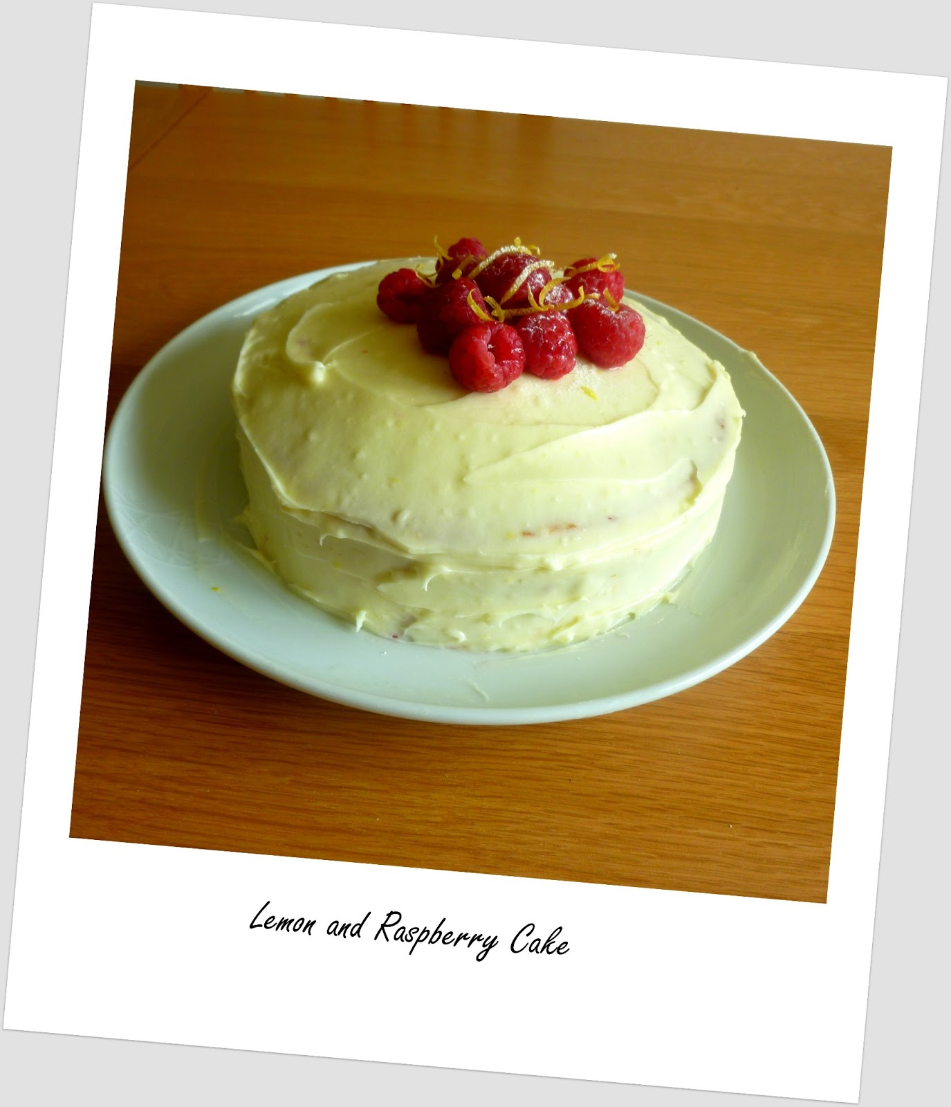 Hummingbird Bakery Lemon And Raspberry Cake Recipe