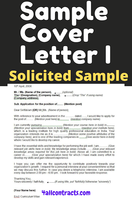 , cover letter 2020 examples