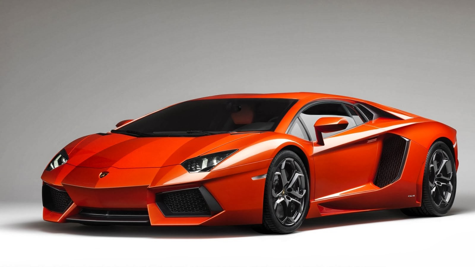 Orange Lamborghini Aventador: Orange Lamborghini Aventador Wallpaper For Android