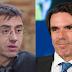 Juan Carlos Monedero carga contra José María Aznar y el PP
