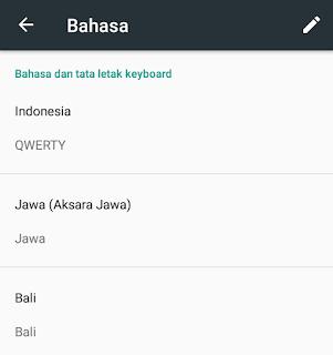 daftar bahasa gboard