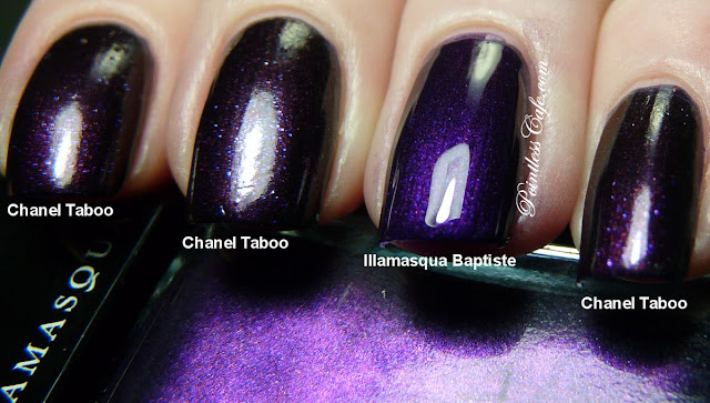 Comparison Request Chanel Taboo Vs Illamasqua Baptiste Pointless Cafe