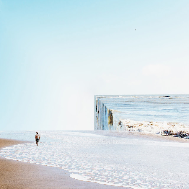 Cédric Gilbert, Photographie, surf, Digital manipulation, art digital