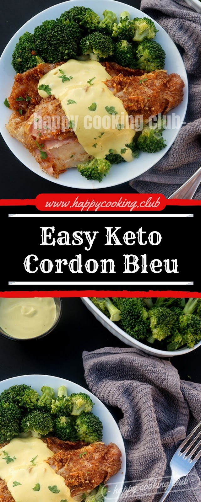 Easy Keto Cordon Bleu