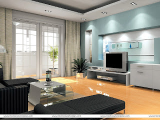 desain warna ruang tamu 2