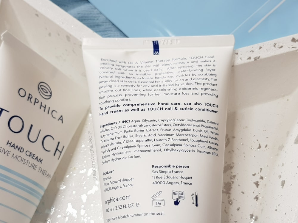 ORPHICA TOUCH peeling skład, opinie, blog