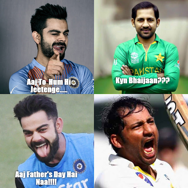 Virat Kohli vs Sarfraz Ahmed
