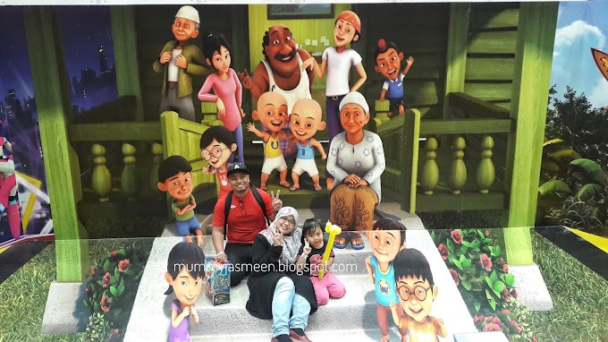 Karnival Upin Upin 2017 Di Maeps Serdang  Memang Luar Biasa