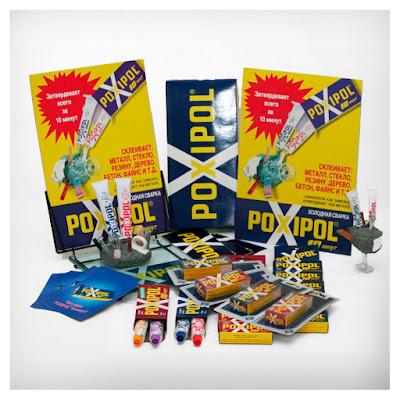 Поксипол клей / Poxipol glue