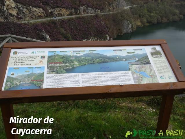 Senda al Torreón de Villamorei: Mirador de Cuyacerra