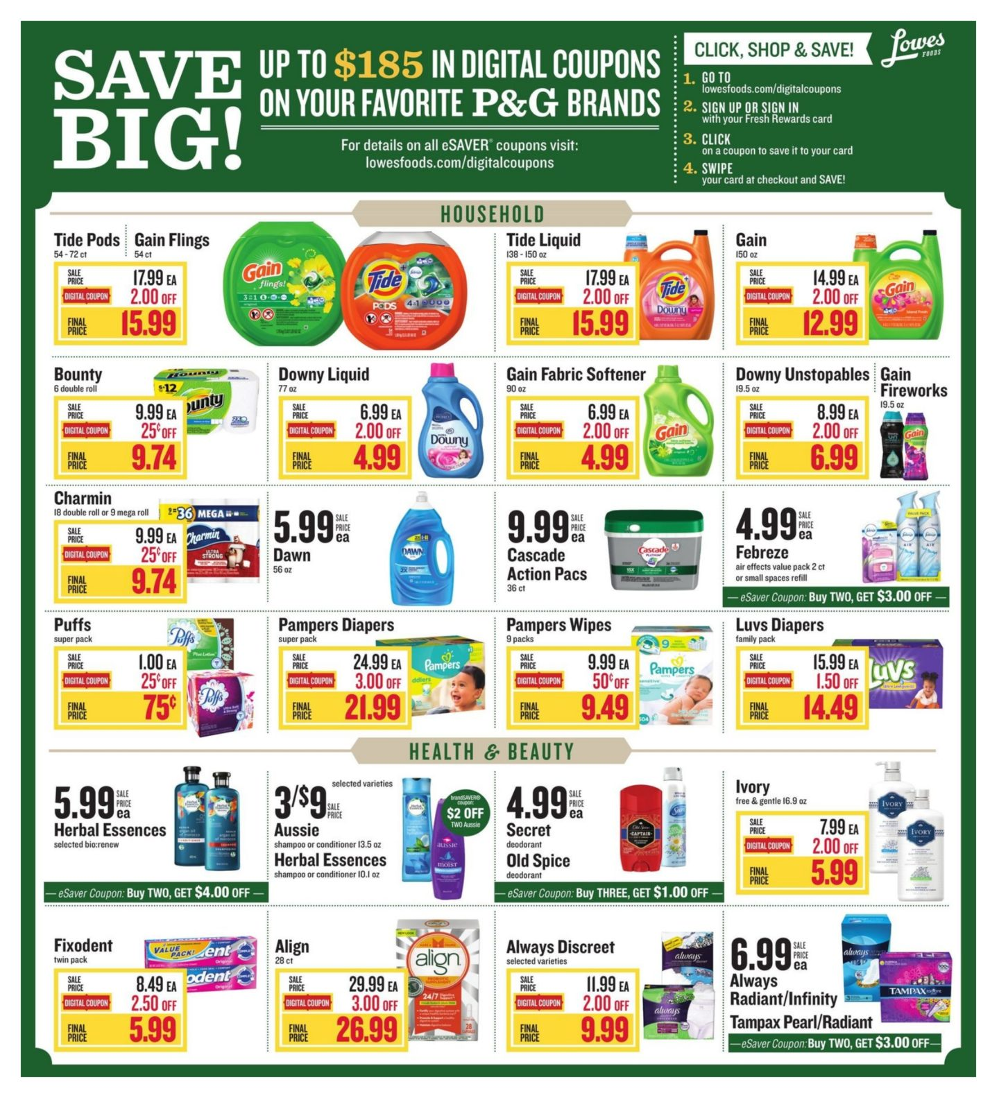 Grocery coupons 2019