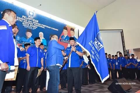Ratusan Kader Meriahkan Pelantikan DPD dan DPC PAN Kota Dumai