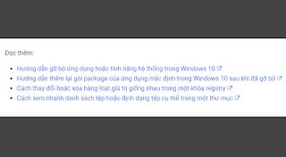 Cách thêm biểu tượng liên kết ngay sau nội dung hiển thị khi chèn URL trong bài viết