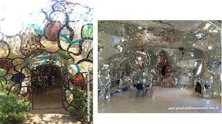 jardim dos taros imperatriz entrando - Jardim do Tarô de Niki de Saint-Phalle