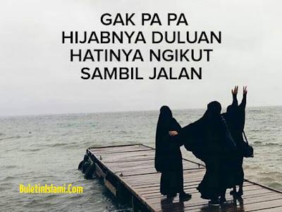 Jangan Kalian Salahkan Jilbab Kami, Karena Jilbab Dan Akhlak Adalah Dua Hal Yang Berbeda