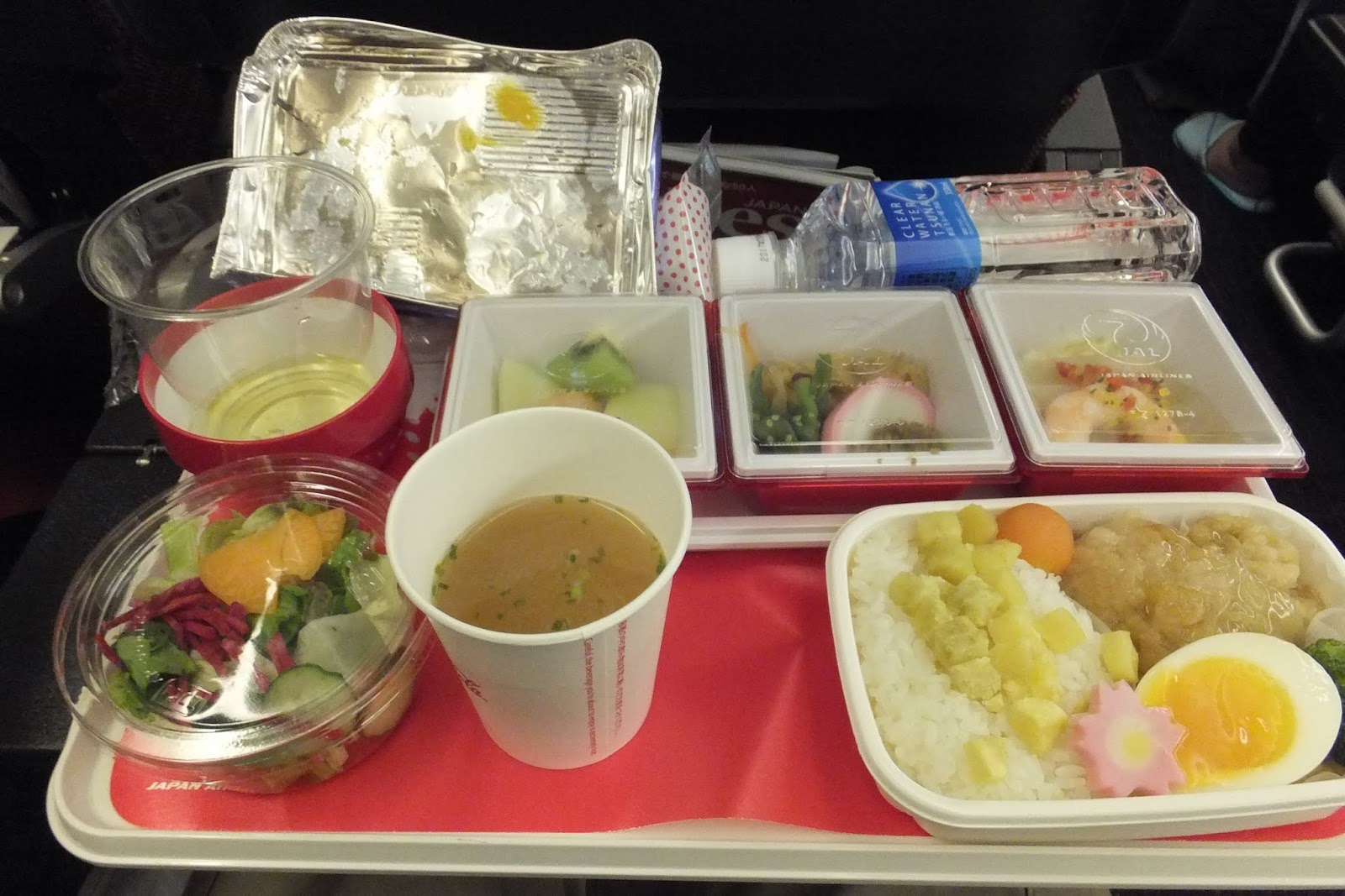 jl751flight-meal l751機内食