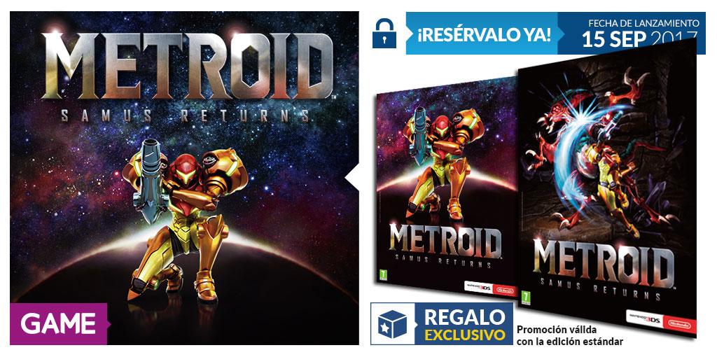 Metroid Samus Returns y póster de doble cara en GAME, ¡no se puede pedir más!