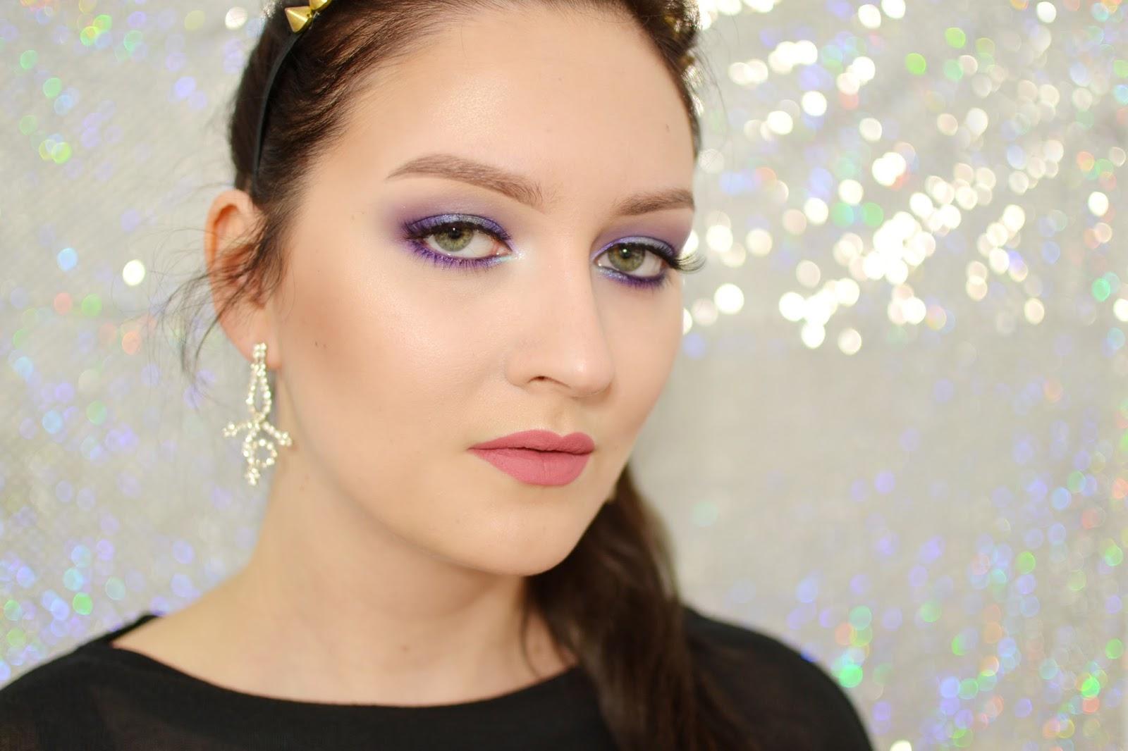 makijaż podkreślający zielone oczy