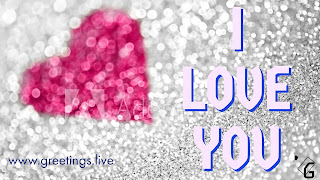 Sparkling I Love you love  proposal message