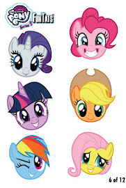 My Little Pony Tattoo Card 6 Series 5 Trading Card