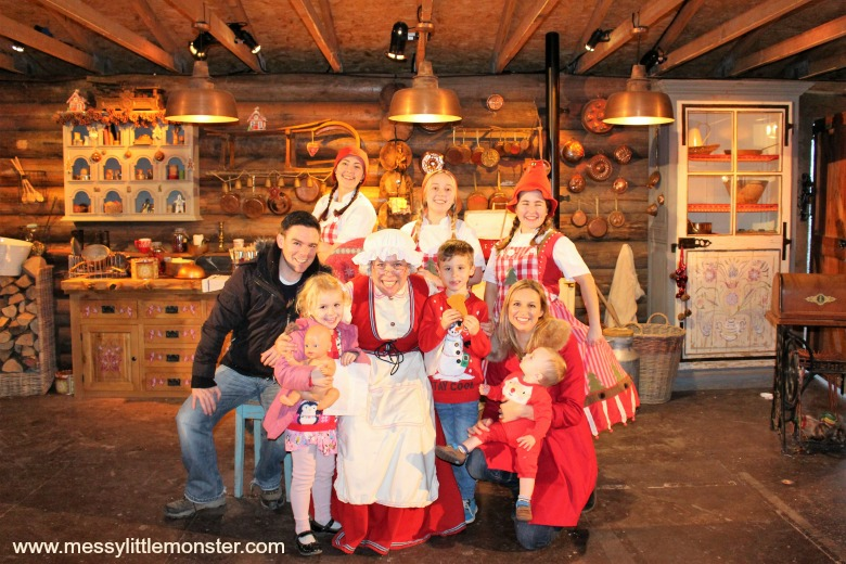 Lapland UK review Mrs Claus kitchen