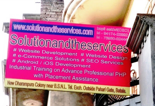 solutionandtheservices