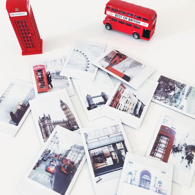 London, instax mini, travellove, grinsestern travel, londonliebe, red bus, telefonzelle