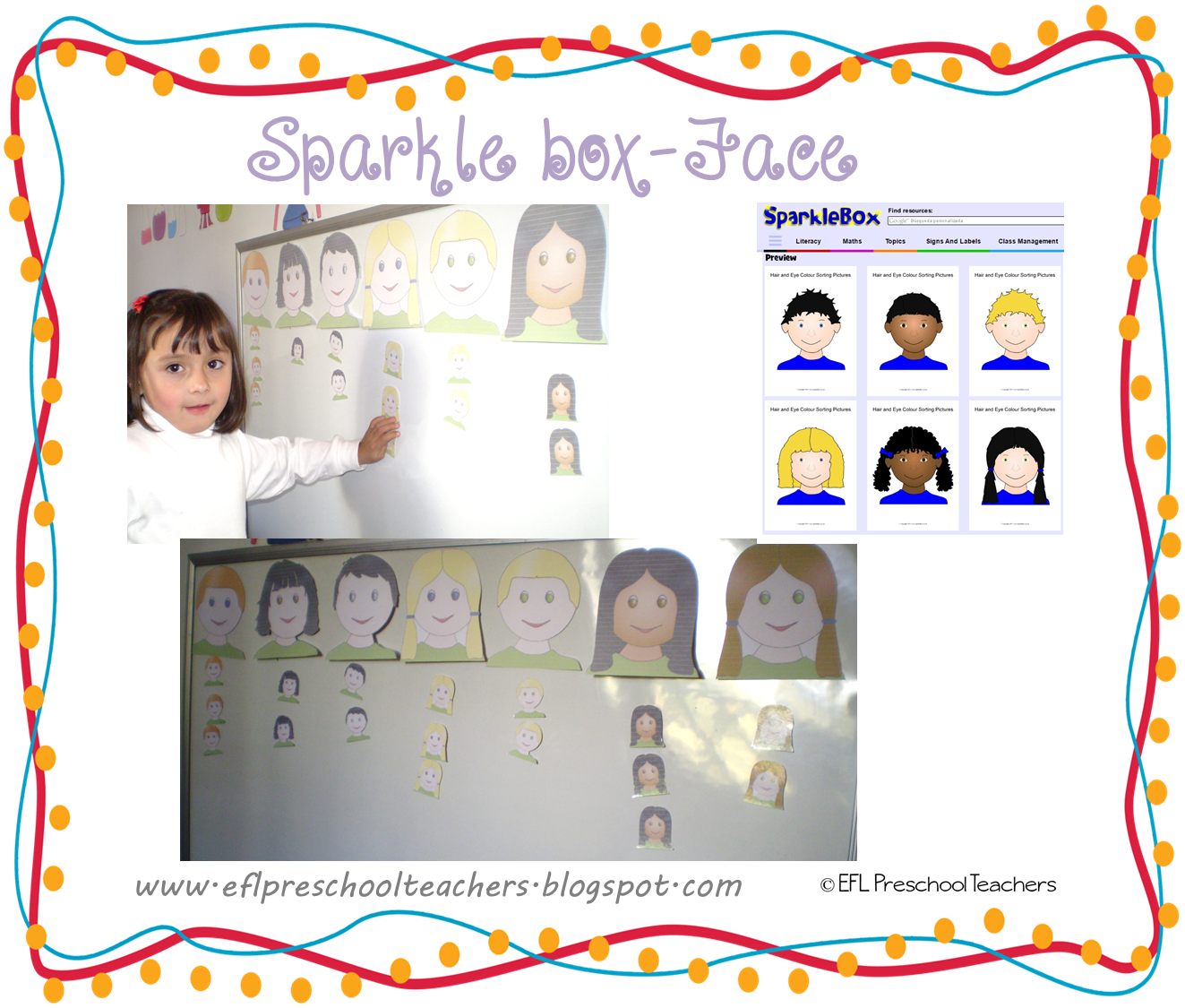 Esl Efl Preschool Teachers Face Teaching Materials For The Preschool Ell