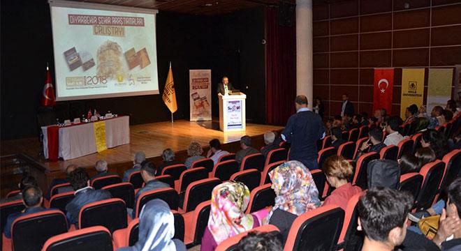 Dicle Üniversitesinde Diyarbekir Şehir Araştırmaları Çalıştayı düzenlendi