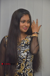 Tamil Actress Shreya Sri Stills in Black Akarkali Dress at Vanga Vanga Team Interview  0006.jpg