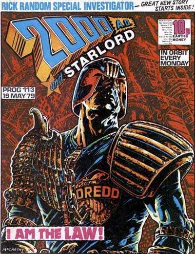 2000 AD Prog 113, Judge Dredd